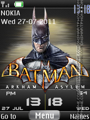 Batman Ultimate 3d es el tema de pantalla