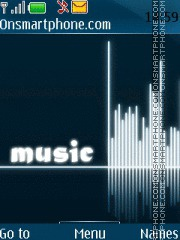 Music 5328 theme screenshot