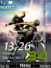 Dance Mania tema screenshot