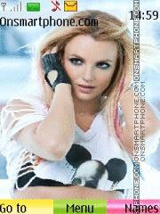 Britney - tell me theme screenshot