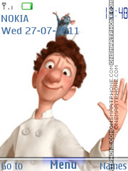 Ratatouille 05 es el tema de pantalla
