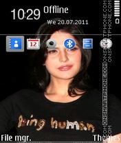 Zarina Khan es el tema de pantalla