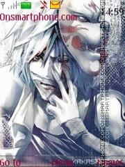 Hatake Kakashi theme screenshot
