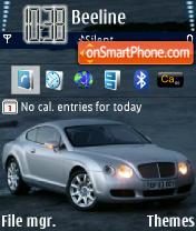 Bentley 01 es el tema de pantalla