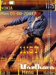 Cowboy es el tema de pantalla
