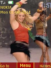 Shakira es el tema de pantalla