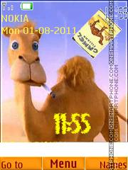 Camel es el tema de pantalla