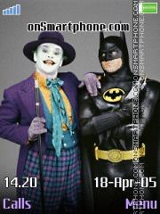 Batman & Joker es el tema de pantalla