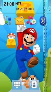Super Mario Bros - Next Generation theme screenshot