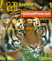 Tiger 03 theme screenshot