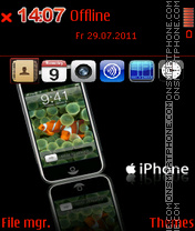 IPhone 2012 theme screenshot