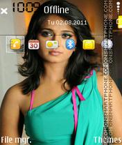 Anushka Shetty 02 es el tema de pantalla