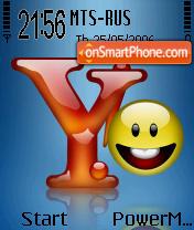 Yahoo theme screenshot