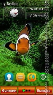 Fish V2 S^3 es el tema de pantalla