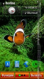 Fish V2 S^3 (Def) es el tema de pantalla