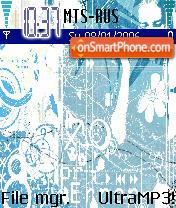 MTV Blue theme screenshot