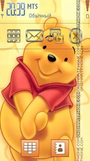 Pooh 10 theme screenshot