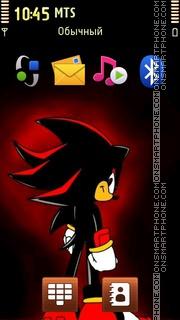 Sonic Red theme screenshot