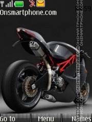 Bike With Tone 06 theme screenshot