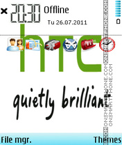 Htc 04 theme screenshot