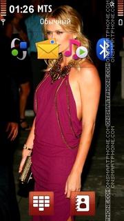 Charlize Theron 23 theme screenshot