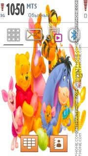 Winnie Pooh 104 es el tema de pantalla