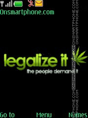 Legalize It theme screenshot