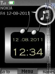 Music Lovers By ROMB39 tema screenshot