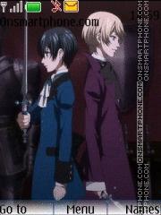 Kuroshitsuji 2 theme screenshot