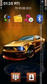 Ford Mustang 89 theme screenshot