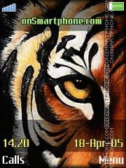 Tiger Eye es el tema de pantalla