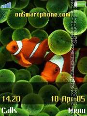 Clownfish es el tema de pantalla