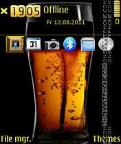 Beer 05 es el tema de pantalla