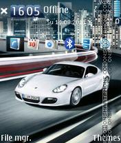 Porsche Cayman 02 es el tema de pantalla