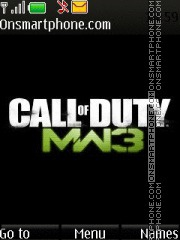 Call Of Duty Mw3 theme screenshot