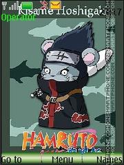 Hamruto Naruto by Mimiko es el tema de pantalla