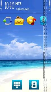 Sea Nature V2 theme screenshot