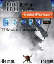 Pirates 01 es el tema de pantalla