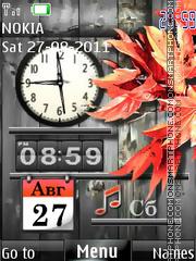 Osennie Chasy136 theme screenshot
