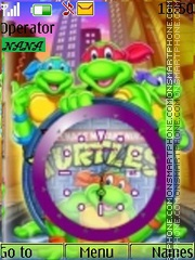 Ninja Turtles CLK theme screenshot