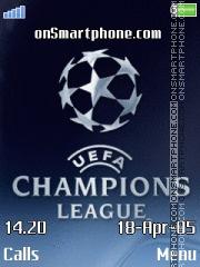 Champions League es el tema de pantalla