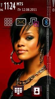 Rihanna 09 es el tema de pantalla