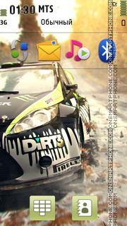 Dirt3 theme screenshot