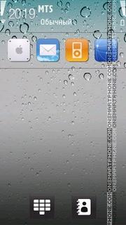 Iphone4 01 es el tema de pantalla