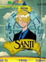 Sanji One Piece theme screenshot