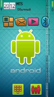 Android Theme 02 tema screenshot