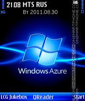 Azure theme screenshot