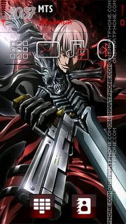 Dante Devil may cry 01 theme screenshot