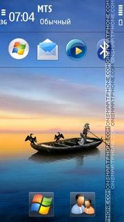 Sea hd 02 es el tema de pantalla