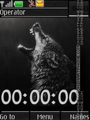 Wolves swf tema screenshot